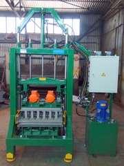 Вибропресс для производства экологичной брусчатки