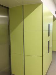 HPL конструкционный пластик ДБСП для интерьеров и отделки стен,  КМ1