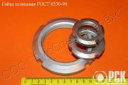 Гайка круглая шлицевая класс точности А ГОСТ 11871-88, ГОСТ 8530-90 - foto 0